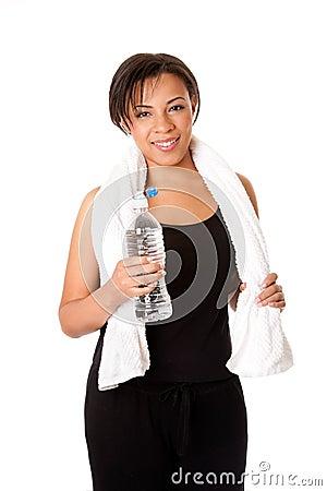 Wodny kobieta trening