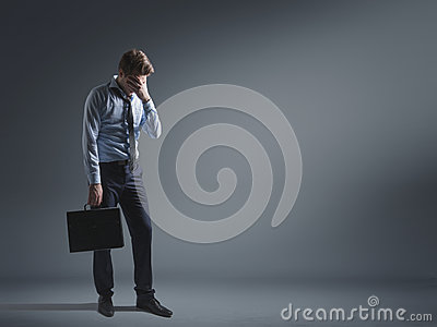 Woeful businessman lost his career