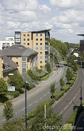 Wohnungen, Woking, Surrey in England