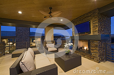 Moderne Wohnzimmer Mit Kamin - Design