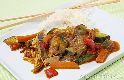 Wok food Asia