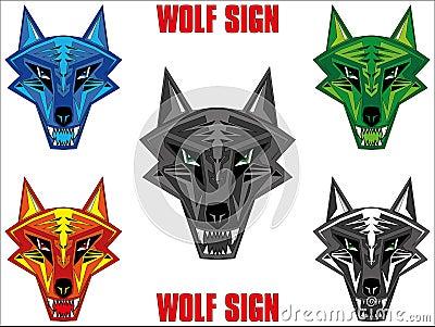Wolf emblem
