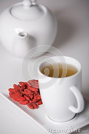 Wolfberry tea