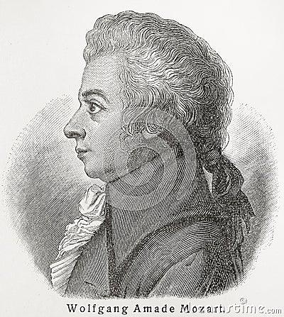 Free Wolfgang Amadeus Mozart Royalty Free Stock Images - 20306409