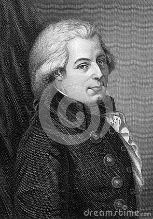 Wolfgang Amadeus Mozart Editorial Photography