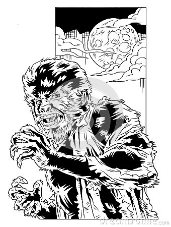 Wolfman - Comic Style