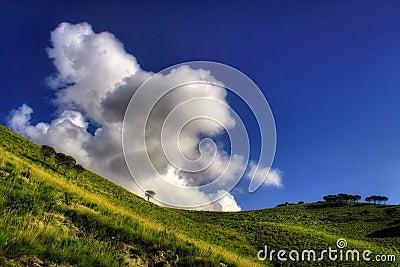 Wolken-Angriff