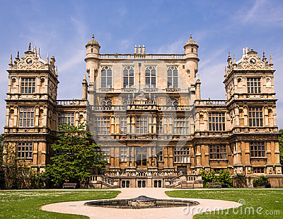 Wollaton Hall Country Mansion, England