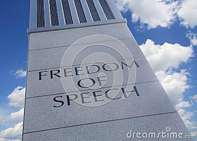 Wolności mowa