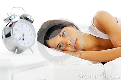 Woman alarm clock