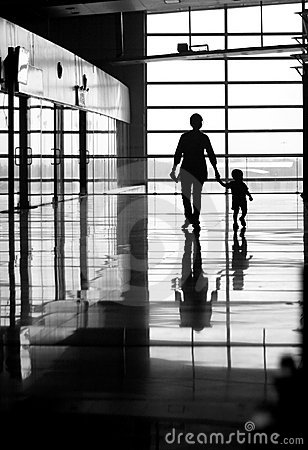 Free Woman And Child Walking Stock Photos - 19338393