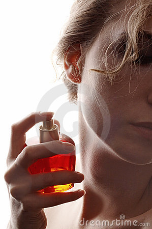 Free Woman And Perfume Royalty Free Stock Photos - 5357588