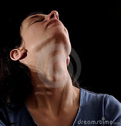 Womans Day Com >> Woman Arching Her Neck Royalty Free Stock Photos - Image ...