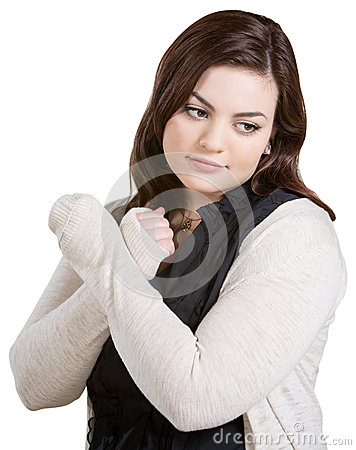 Woman Crossing Arms