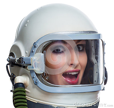 Woman Astronaut Royalty Free Stock Image - Image: 38763316