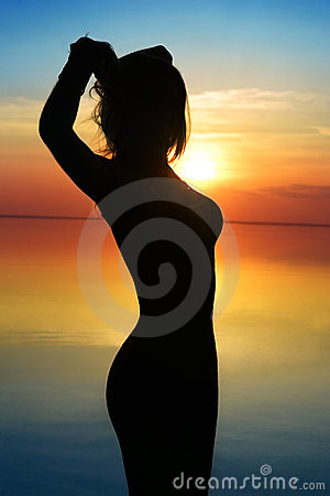 Free Woman At Beach Stock Images - 14494644