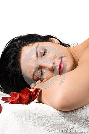 Free Woman At Spa Resort Royalty Free Stock Photos - 8917818
