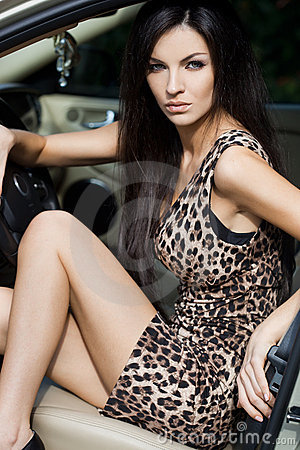 Free Woman At The Car Royalty Free Stock Images - 17419739