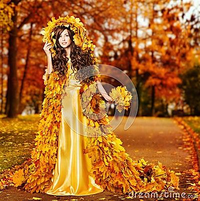 Девушка осень фото и картинки