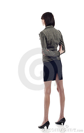 Woman from the Back