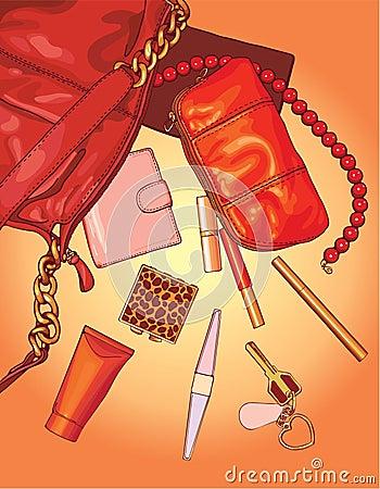 Free Woman Bag Stock Photos - 7277323