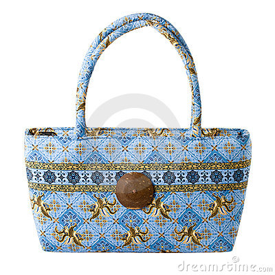 Woman bag isolated