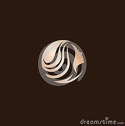 Free Woman Beauty Hair Salon Logo Design Stock Photo - 85652420