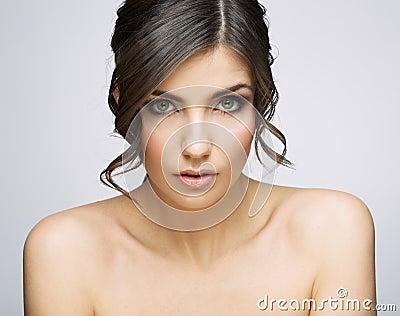 Woman beauty portrait.