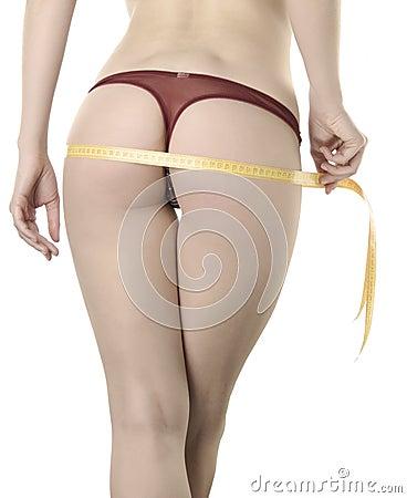 Woman body part measured