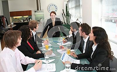 Woman Boss - Female Executive Leadership