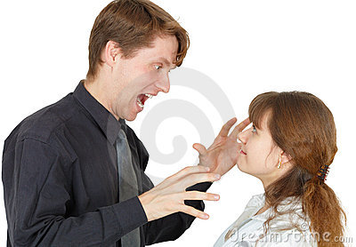 Woman brought man to rage