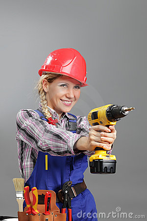 Free Woman Builder Stock Image - 20120411