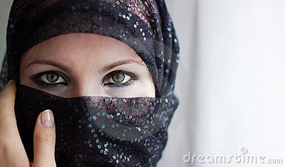 Woman With Burqa
