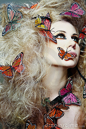 http://thumbs.dreamstime.com/x/woman-butterfly-curly-hair-13486626.jpg