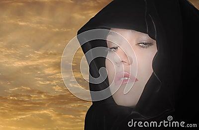 Woman In Cape