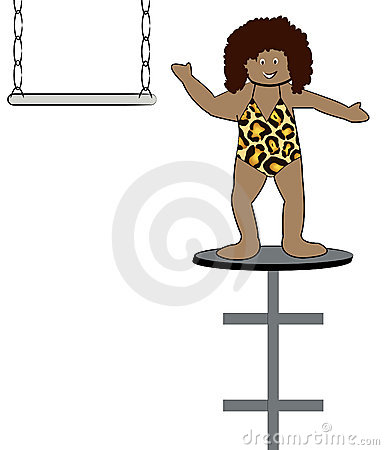 Woman in circus