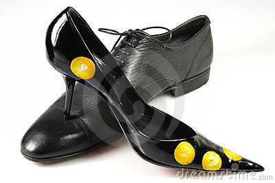 Woman classical shoe