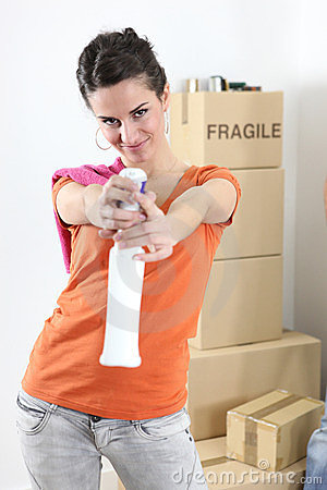 Woman cleaning house royalty free stock photos image for House cleaning stock photos