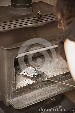 Cleaning the Wood Stove
