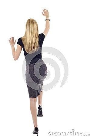 Free Woman Climbing Stock Photos - 13969003