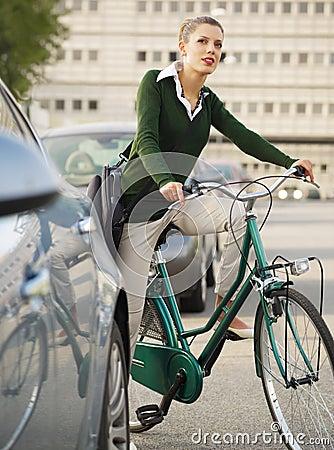 Free Woman Commuting Stock Photo - 11317670
