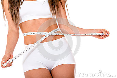 Woman concerned about weight loss