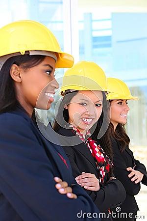 Woman Construction Team