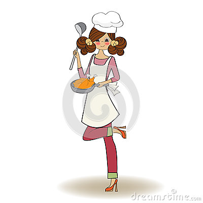 Free Woman Cooking Royalty Free Stock Photo - 31094525