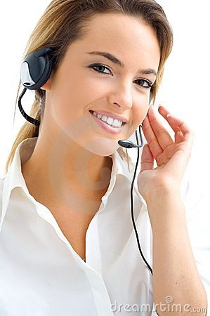 Free Woman Customer Service Royalty Free Stock Photo - 9828355