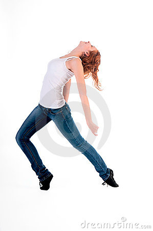 Woman in the dance.