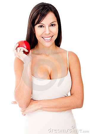 Woman On A Diet Royalty Free Stock Photo - Image: 23390765