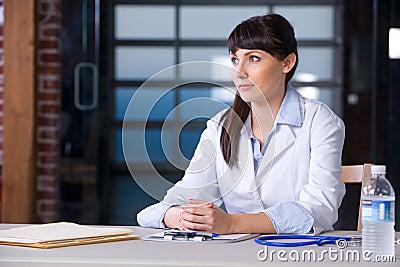 Woman Doctor chart