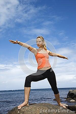 Free Woman Doing Yoga Royalty Free Stock Photo - 2051495