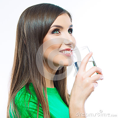 Free Woman Drink Water Stock Images - 31154494